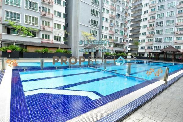 For Rent Condominium at Banjaria Court, Batu Caves Freehold Semi Furnished 3R/2B 1.45k