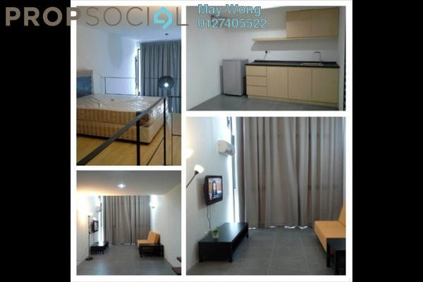 For Sale Duplex at Empire Damansara, Damansara Perdana Freehold Semi Furnished 1R/2B 420k