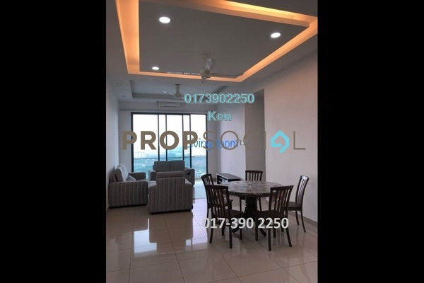 For Rent Condominium at USJ One Park, UEP Subang Jaya Freehold Semi Furnished 4R/3B 2.2k