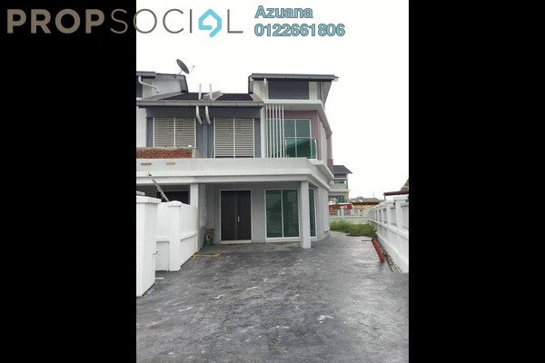 For Rent Semi-Detached at Taman Kantan Permata, Kajang Freehold Unfurnished 4R/4B 1.35k