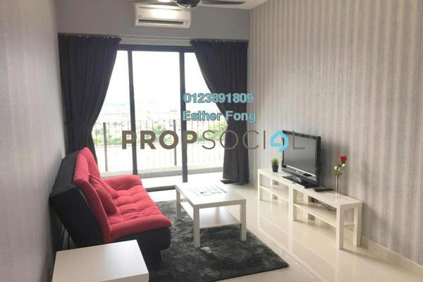 For Rent Condominium at Dex @ Kiara East, Jalan Ipoh Freehold Fully Furnished 3R/2B 1.9k