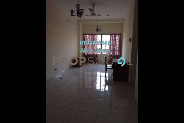 For Rent Condominium at Bayu Tasik 1, Bandar Sri Permaisuri Freehold Unfurnished 3R/2B 1.2k