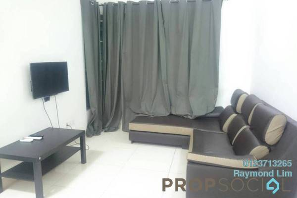 For Rent Condominium at Vega Residensi, Cyberjaya Freehold Fully Furnished 1R/1B 1.2k