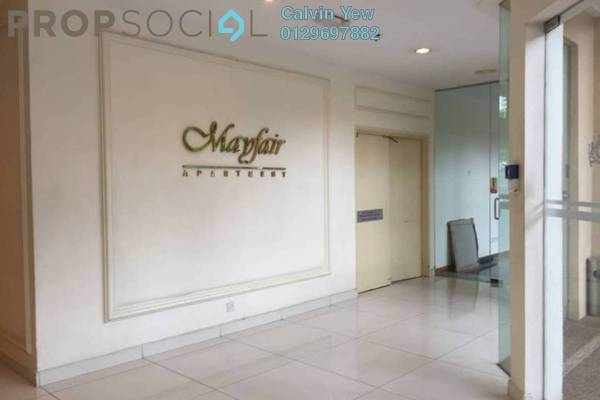 For Rent Apartment at Mayfair, Sri Hartamas Freehold Unfurnished 0R/1B 1.2k