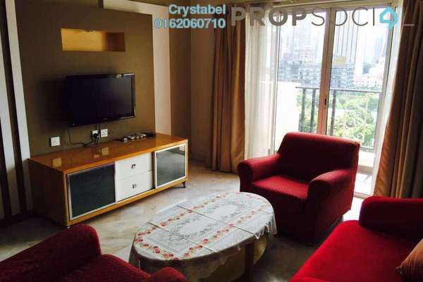 For Rent Serviced Residence at D-Villa Residence, Ampang Hilir Freehold Fully Furnished 2R/1B 2.1k