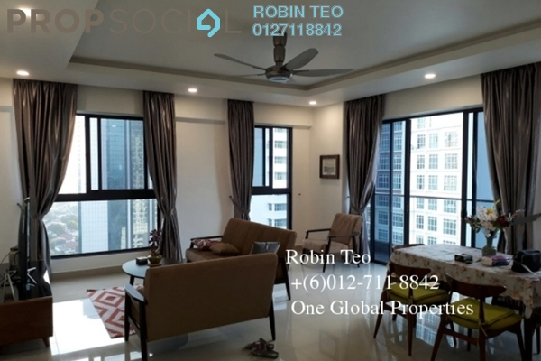 For Rent Condominium at V @ SummerPlace, Johor Bahru Freehold Fully Furnished 3R/3B 3.5k