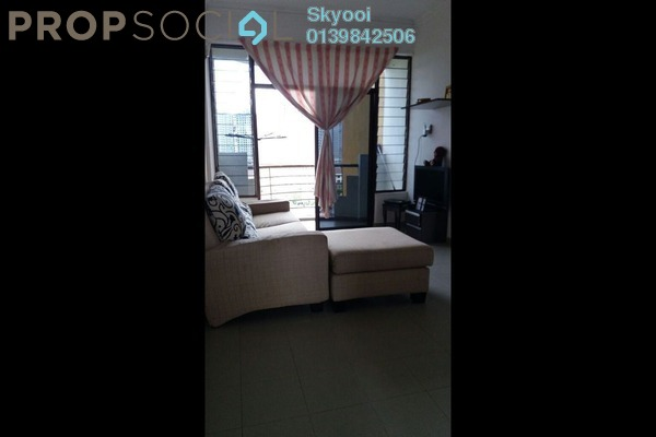 For Sale Condominium at Desa Bistari, Batu Uban Freehold Semi Furnished 3R/2B 248k