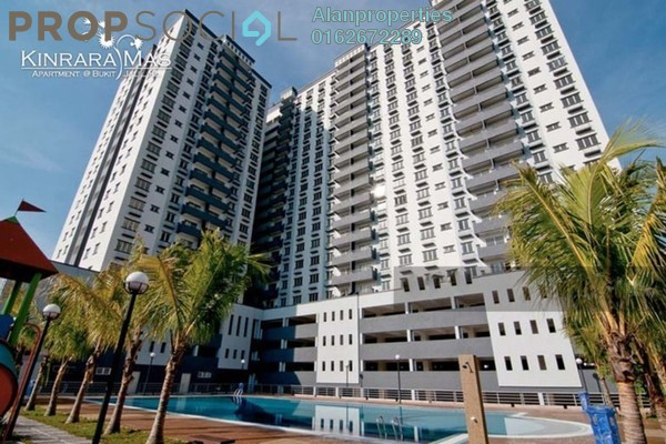 For Rent Condominium at Kinrara Mas, Bukit Jalil Freehold Semi Furnished 3R/2B 1.2k