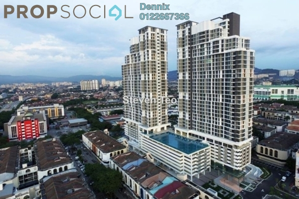 For Sale Condominium at Shamelin Star Serviced Residences, Cheras Freehold Semi Furnished 2R/2B 500k