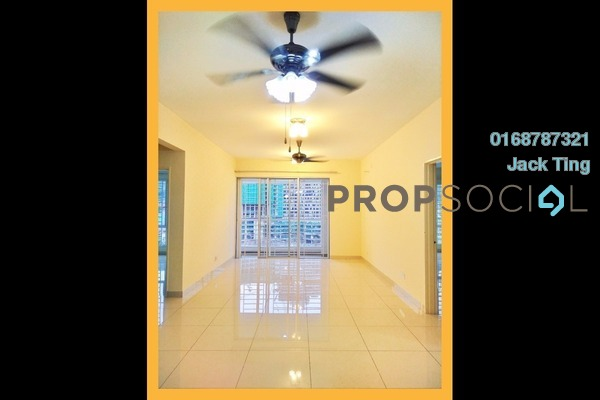 For Rent Condominium at Platinum Hill PV2, Setapak Freehold Semi Furnished 3R/2B 1.7k
