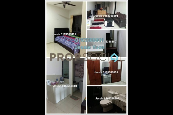 For Rent Condominium at Univ 360 Place, Seri Kembangan Freehold Fully Furnished 3R/2B 1.7k