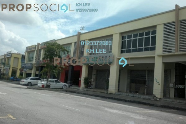 For Rent Shop at Section 7, Shah Alam Leasehold Unfurnished 0R/0B 2.5k