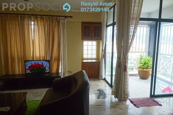 For Rent Condominium at Gurney Heights, Keramat Freehold Fully Furnished 3R/2B 2.3k