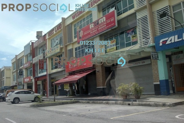 For Rent Shop at Section 7, Shah Alam Leasehold Unfurnished 0R/0B 3.5k