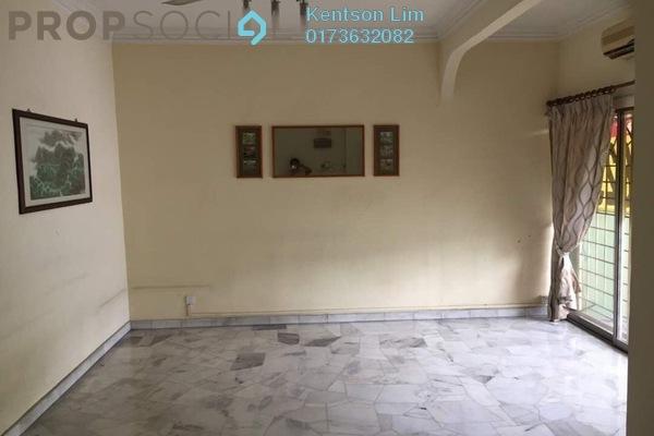 For Sale Terrace at Taman Bukit Maluri, Kepong Freehold Semi Furnished 4R/3B 990k