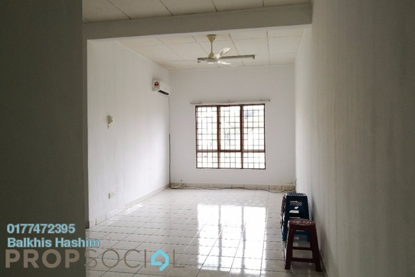 For Rent Apartment at Seroja Apartment, Bukit Jelutong Freehold Semi Furnished 3R/2B 1k