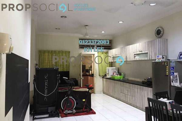 For Sale Semi-Detached at Taman Aman Perdana, Meru Freehold Semi Furnished 3R/2B 648k