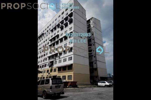 For Sale Apartment at Taman Bayu Perdana, Klang Freehold Unfurnished 3R/3B 53k