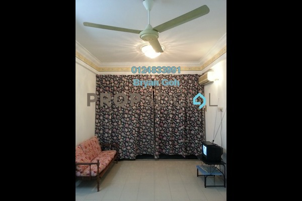 For Rent Condominium at Desa Permai Indah, Sungai Dua Freehold Semi Furnished 3R/2B 1.2k