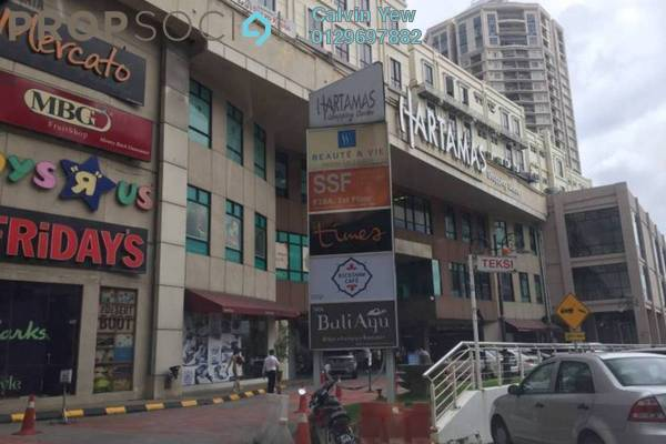 For Rent Condominium at Plaza Damas, Sri Hartamas Freehold Semi Furnished 2R/2B 2k