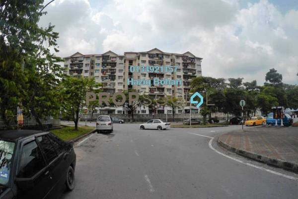 For Rent Apartment at Taman Bunga Negara, Shah Alam Freehold Unfurnished 3R/2B 900translationmissing:en.pricing.unit