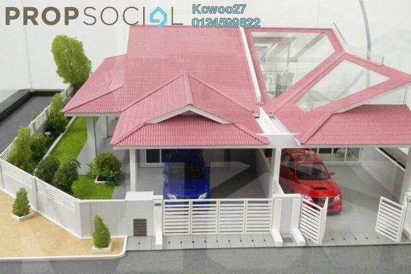 For Sale Terrace at Taman Gantang Setia, Perak Freehold Semi Furnished 3R/2B 191k