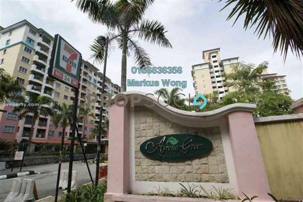 For Rent Apartment at Arena Green, Bukit Jalil Freehold Unfurnished 2R/2B 1k