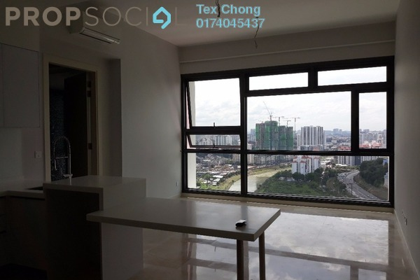 For Rent Condominium at Vogue Suites One @ KL Eco City, Mid Valley City Freehold Semi Furnished 1R/1B 3.1k