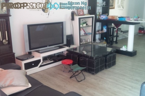 For Sale Condominium at Kenanga Point, Pudu Freehold Fully Furnished 3R/2B 520k