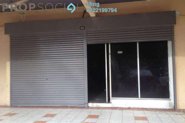 For Rent Shop at Taman Pusat Kepong, Kepong Freehold Unfurnished 0R/0B 4k