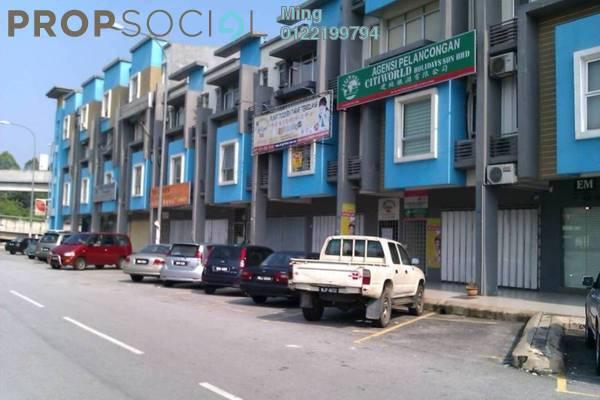 For Rent Shop at Taman Mastiara, Jalan Ipoh Freehold Unfurnished 0R/0B 1.7k