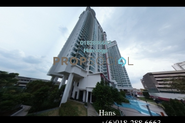 For Sale Condominium at Uptown Residences, Damansara Utama Freehold Unfurnished 4R/6B 4.4m