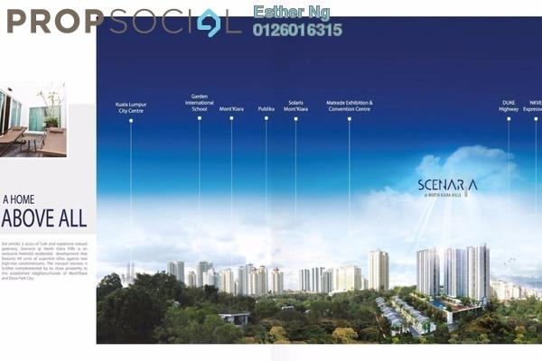 For Sale Superlink at Scenaria, Segambut Freehold Unfurnished 4R/7B 1.62m