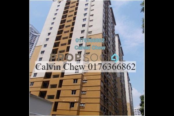 For Sale Apartment at Pelangi Damansara, Bandar Utama Freehold Unfurnished 3R/0B 234k