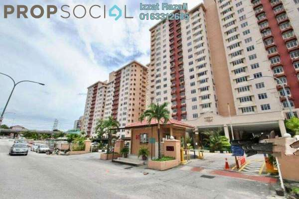 For Sale Condominium at Kelana Puteri, Kelana Jaya Freehold Semi Furnished 4R/2B 580k
