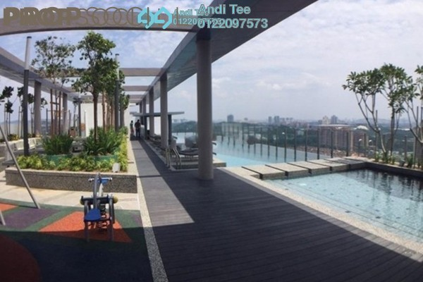 For Sale Condominium at Gardenz @ One South, Seri Kembangan Freehold Fully Furnished 3R/2B 560k