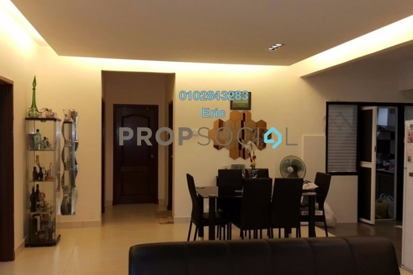 For Sale Condominium at Villa Park, Seri Kembangan Freehold Fully Furnished 4R/2B 455k