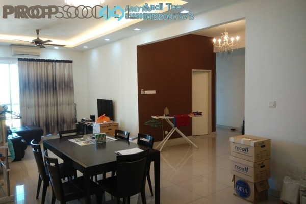 For Sale Condominium at Vistaria Residensi, Cheras Freehold Fully Furnished 4R/2B 800k