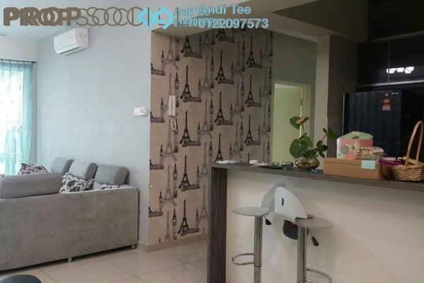 For Sale Condominium at The Zest, Bandar Kinrara Freehold Fully Furnished 3R/2B 680k
