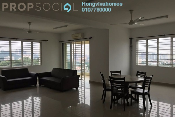 For Rent Condominium at Platinum Hill PV8, Setapak Freehold Semi Furnished 4R/2B 2.2k