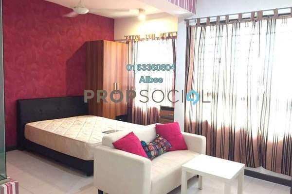 For Rent Condominium at Ritze Perdana 1, Damansara Perdana Freehold Fully Furnished 0R/1B 1.35k