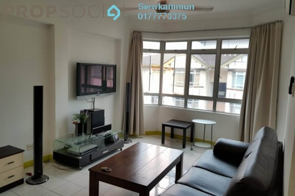 For Rent Apartment at D'Shire Villa, Kota Damansara Freehold Fully Furnished 3R/2B 1.6k