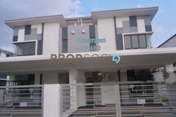 For Rent Terrace at Setia Impian, Setia Alam Freehold Semi Furnished 4R/3B 1.65k