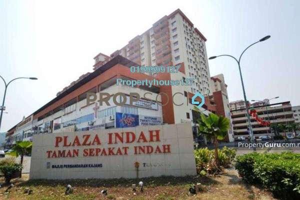 For Rent Apartment at Plaza Indah, Kajang Freehold Semi Furnished 3R/2B 900translationmissing:en.pricing.unit