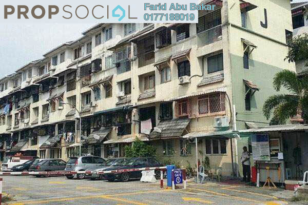 For Sale Duplex at Dahlia Apartment, Pandan Indah Freehold Unfurnished 3R/2B 280k
