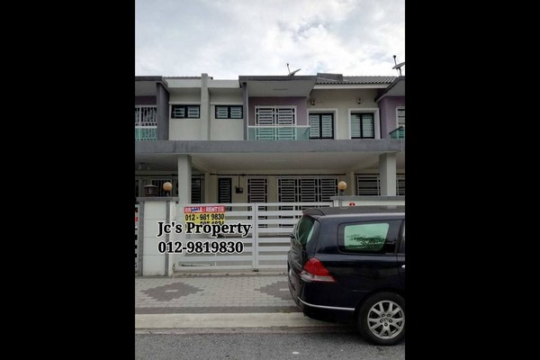 For Rent Terrace at Tiara Lake Park, Ipoh Freehold Unfurnished 4R/3B 900translationmissing:en.pricing.unit
