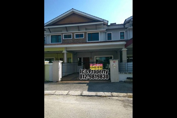 For Rent Terrace at Tiara Lake Park, Ipoh Freehold Unfurnished 4R/3B 800translationmissing:en.pricing.unit