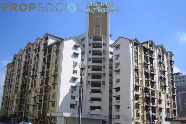 For Sale Condominium at Vista Lavender, Bandar Kinrara Freehold Semi Furnished 3R/2B 230k