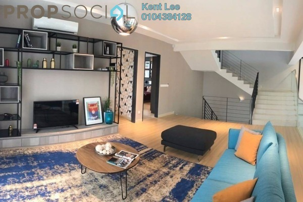 For Sale Bungalow at Park Residence, Bukit Jelutong Freehold Semi Furnished 6R/7B 1.8m