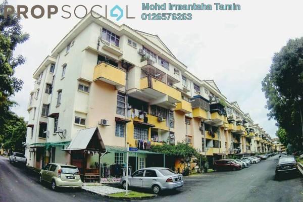 For Sale Apartment at Casmaria Apartment, Batu Caves Freehold Semi Furnished 3R/2B 264k